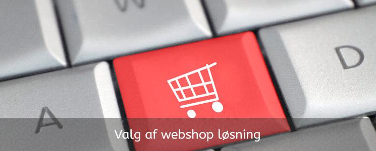 webshopløsning